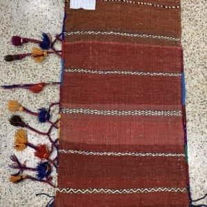 Rug# 26159, vintage Afghan Torbeh or Grain-bag, Balouchi nomadic weave, Size 75x50 cm (2)