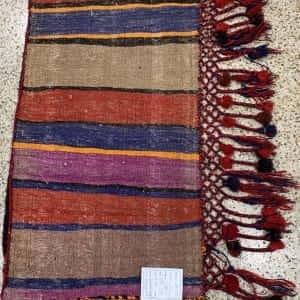 Rug# 26163, vintage Afghan Torbeh or Grain-bag, Balouchi nomadic weave, Size 75x50 cm (2)