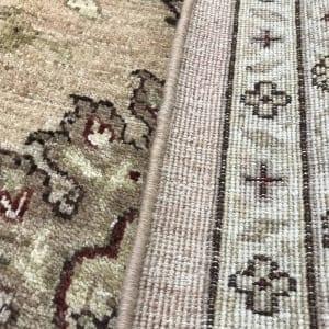 #19501 Afghan weave Peshawar carpet , Hand spun wool pile, natural vegertable dyes, very durable, 19th C design, size 430x300 cm (5)
