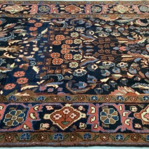 LOt# 35, trible Borchalue, Armani, circa 1950, immaculate, Vegtable dyes, very durable, Persia, size 400x121 cm (4)