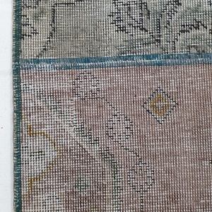 Lot# 23, Modern Patchwork carpet made of overdyed, antique rug fragments, Persia, size 306x205 cm (4)