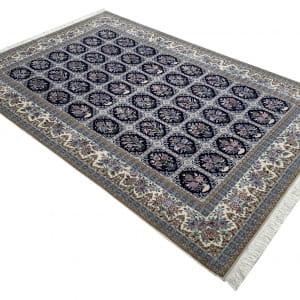 Lot# 25, Superfine Isfehan, c.1975, Qajar design , signed Davari Master weaver, silk base & inlay, Persia, size 300x204 cm (2)