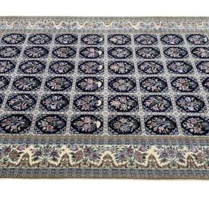 Lot# 25, Superfine Isfehan, c.1975, Qajar design , signed Davari Master weaver, silk base & inlay, Persia, size 300x204 cm (3)