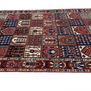 Lot# 29, Chaleh-Shotor Bakhtiar Kheshti or compartmentgarden design, rare, circa 1950, Persia, size 300x200 cm (3)