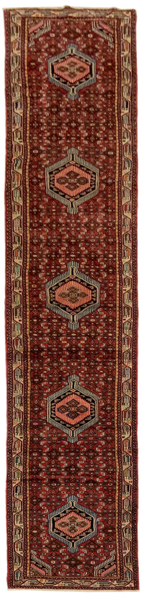 Lot# 43, Trible Enjelass-, circa 1970, Asadabad village, takpood weave, Persia, size 477x84 cm