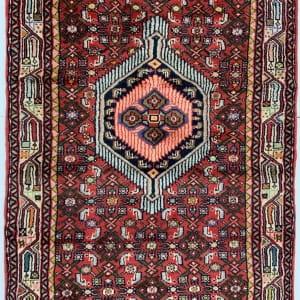 Lot# 43, , trible Enjelass-, circa 1970, Asadabad village, takpood weave, Persia, size 477x84 cm