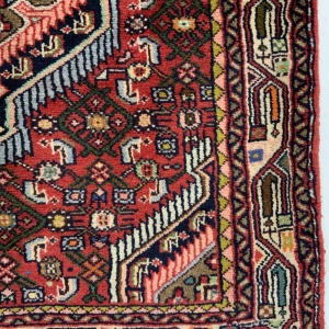 Lot# 43, , trible Enjelass-, circa 1970, Asadabad village, takpood weave, Persia, size 477x84 cm (2)