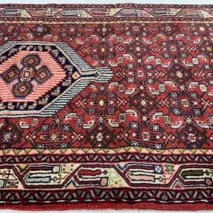 Lot# 43, , trible Enjelass-, circa 1970, Asadabad village, takpood weave, Persia, size 477x84 cm (3)