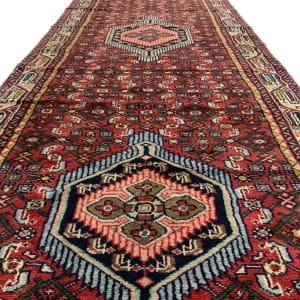 Lot# 43, , trible Enjelass-, circa 1970, Asadabad village, takpood weave, Persia, size 477x84 cm (4)