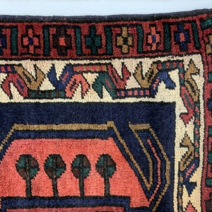 Lot# 49, Luri , c. 1950, immaculate condition, cottage weave, Olad clan, West Persia, size 370x106 cm (5)