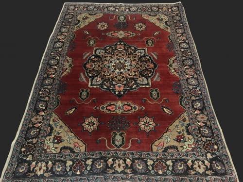 Rug#7014, Superfine vintage Tabriz, rare, collectable, Persia, Size, 182x135 cm (4)