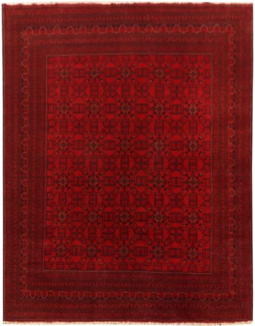 Rug# 26273, Ersari Turkaman, very fine, Afghanistan, Size 383x300 cm