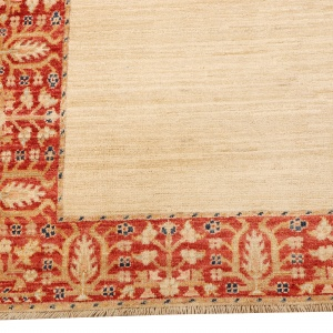 Rug# 26277, Afghan Turkaman, 19th century Zigler inspired, Size 384x92 cm (2)