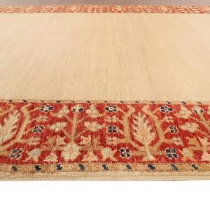Rug# 26277, Afghan Turkaman, 19th century Zigler inspired, Size 384x92 cm (3)