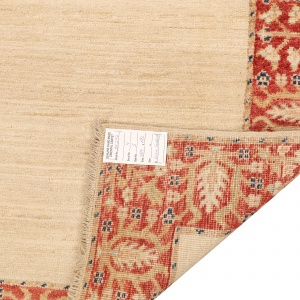 Rug# 26277, Afghan Turkaman, 19th century Zigler inspired, Size 384x92 cm (4)