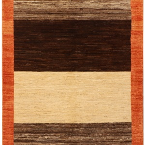 Rug# 26278, Afghan Turkaman, Modern Gabbeh inspired, Size 147x100 cm