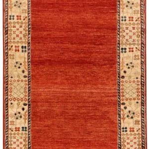 Rug# 26279, Afghan Turkaman,19th c Zigler inspired, Size 376x88 cm