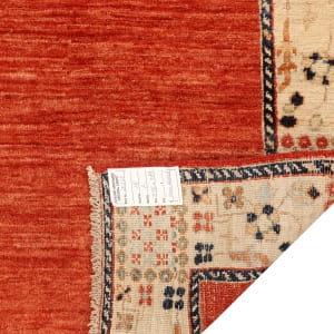 Rug# 26279, Afghan Turkaman,19th c Zigler inspired, Size 376x88 cm (4)