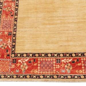 Rug# 26282, Afghan Turkaman,19th c Zigler inspired, Size 199x145 cm (2)