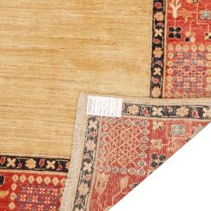 Rug# 26282, Afghan Turkaman,19th c Zigler inspired, Size 199x145 cm (4)