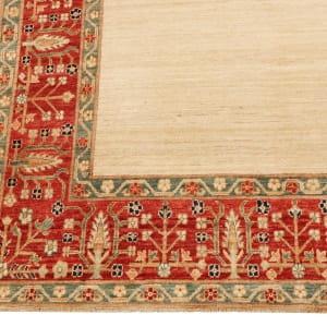Rug# 26284, Afghan Turkaman,19th c Zigler inspired, Size 238x164 cm (2)