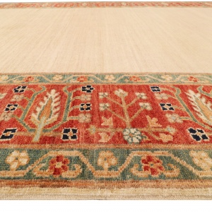 Rug# 26284, Afghan Turkaman,19th c Zigler inspired, Size 238x164 cm (3)