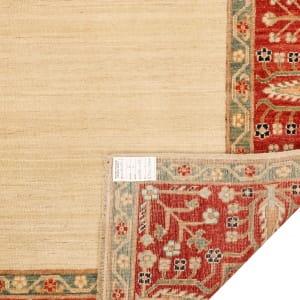 Rug# 26284, Afghan Turkaman,19th c Zigler inspired, Size 238x164 cm (5)