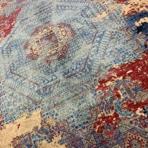 Rug# 26285, Afghan Turkaman,Transitional Mamluk, Veg dyes, Size 288x196 cm (2)