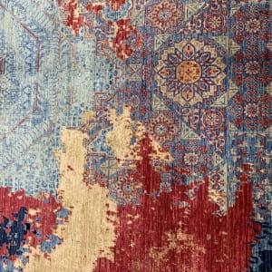 Rug# 26285, Afghan Turkaman,Transitional Mamluk, Veg dyes, Size 288x196 cm (3)