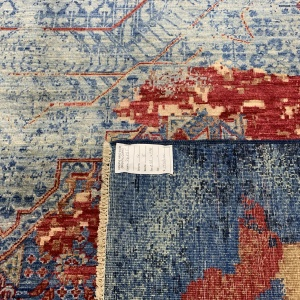 Rug# 26285, Afghan Turkaman,Transitional Mamluk, Veg dyes, Size 288x196 cm (5)