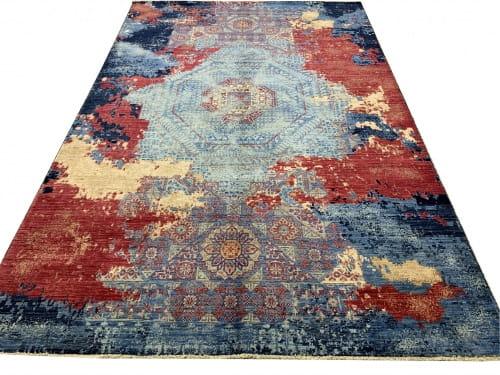 Rug# 26285, Afghan Turkaman,Transitional Mamluk, Veg dyes, Size 288x196 cm