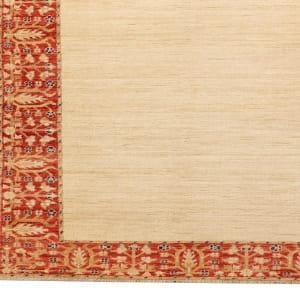 Rug# 26287, Afghan Turkaman,19th c Zigler inspired, Size 385x91 cm (2)
