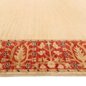 Rug# 26287, Afghan Turkaman,19th c Zigler inspired, Size 385x91 cm (3)
