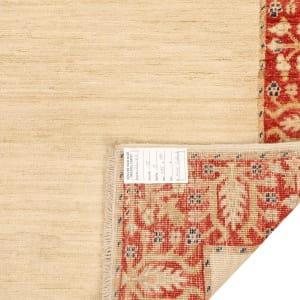 Rug# 26287, Afghan Turkaman,19th c Zigler inspired, Size 385x91 cm (4)