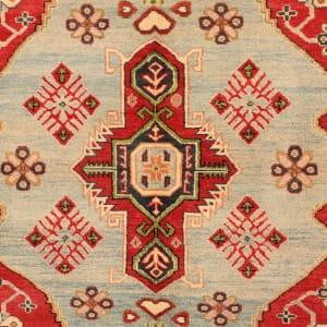 Rug# 26301, Afghan Turkaman,19th c Kazak inspired, Size 264x186 cm