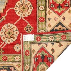 Rug# 26301, Afghan Turkaman,19th c Kazak inspired, Size 264x186 cm (4)