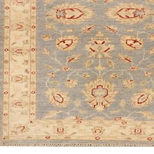 Rug# 26315, Afghan Turkaman,19th c Ziegler inspired, Size 324x78 cm (2)