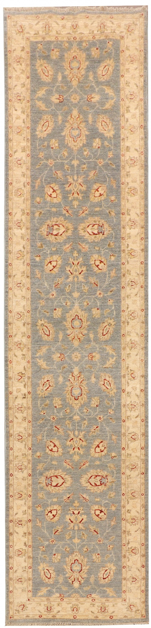 Rug# 26315, Afghan Turkaman,19th c Ziegler inspired, Size 324x78 cm