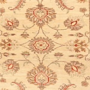 Rug# 26316, Afghan Turkaman,19th c Ziegler inspired, Size 288x77 cm (2)