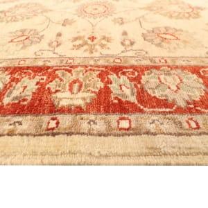 Rug# 26316, Afghan Turkaman,19th c Ziegler inspired, Size 288x77 cm (3)