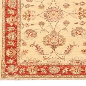 Rug# 26316, Afghan Turkaman,19th c Ziegler inspired, Size 288x77 cm