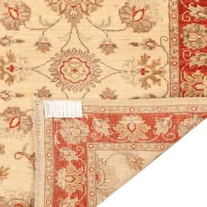 Rug# 26316, Afghan Turkaman,19th c Ziegler inspired, Size 288x77 cm (4)