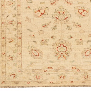 Rug# 26317, Afghan Turkaman,19th c Ziegler inspired, Size 296x80 cm (2)