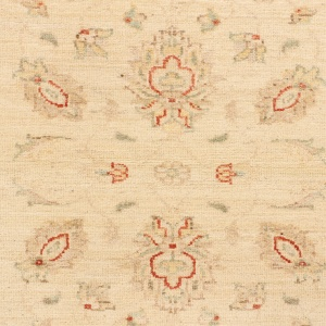 Rug# 26317, Afghan Turkaman,19th c Ziegler inspired, Size 296x80 cm (3)