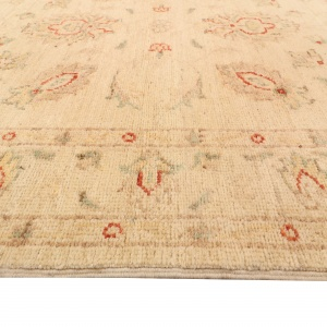 Rug# 26317, Afghan Turkaman,19th c Ziegler inspired, Size 296x80 cm (4)