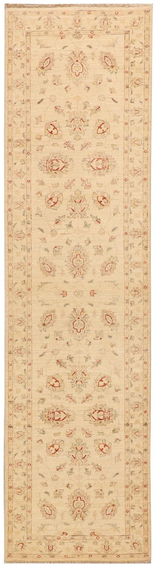 Rug# 26317, Afghan Turkaman,19th c Ziegler inspired, Size 296x80 cm