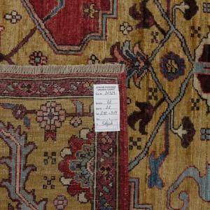 Rug# 26323, AfghanTurkaman weave, 19th c Bakhshaiesh Heriz inspired, Veg dyes, Size 364x272 cm, RRP $12000