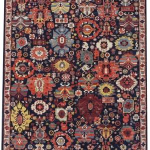 Rug# 26324, AfghanTurkaman weave, 19th c Caucasian Shirvan inspired, Veg dyes, Size 300x242 cm, RRP $9000 (2)