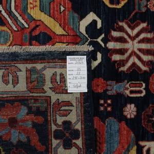 Rug# 26324, AfghanTurkaman weave, 19th c Caucasian Shirvan inspired, Veg dyes, Size 300x242 cm, RRP $9000