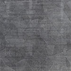 Rug# 31180, Jaipur designer rug, Abstract modern with 100% Hand spun NZ wool pile size 300x250 cm ESK-1505NickelBlack Olive (1)